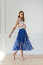 bodkovaná sukňa