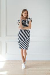 čierno biele šaty